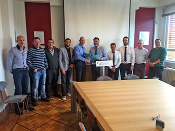 The contract between SMST Tubes France and Fives Bronx Limited was signed in Montbard (France) during August, 2015.