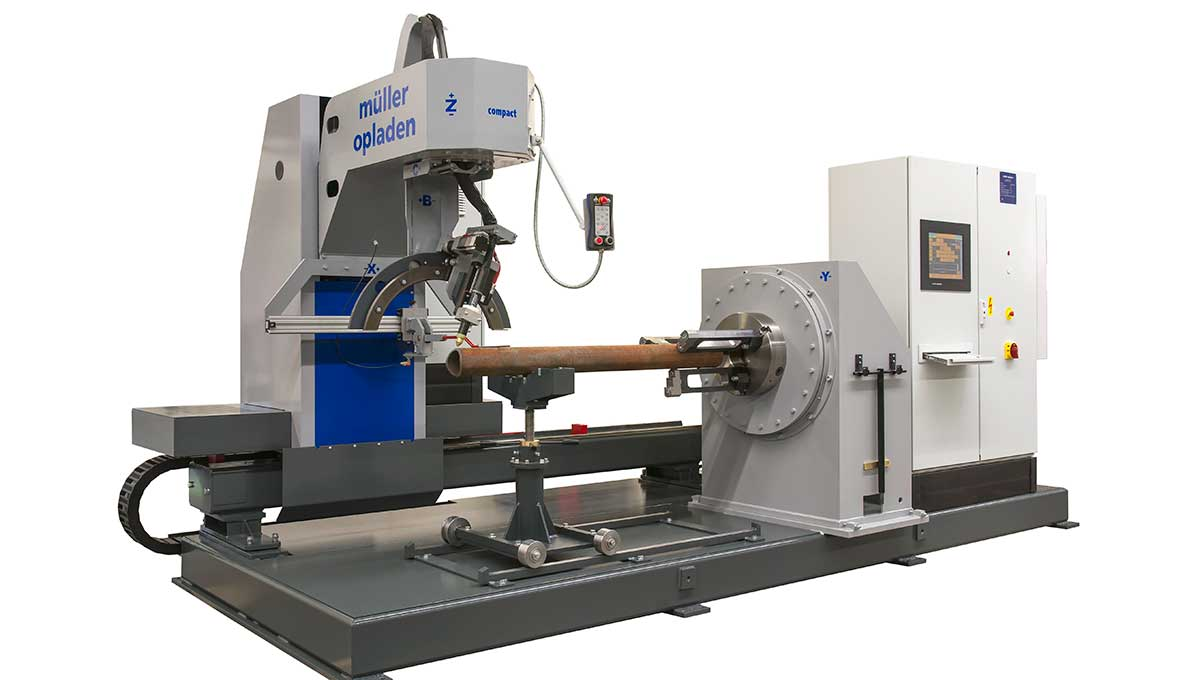 MÜLLER OPLADEN impresses with universal flame cutting machine