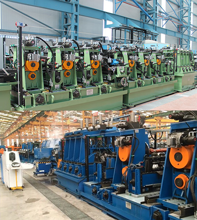 Two complete tube mills installed in Turkey
