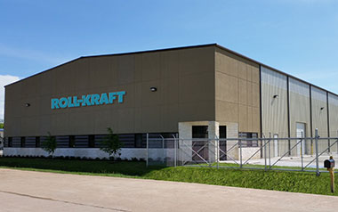 Roll-Kraft's new facility in East Houston, Texas