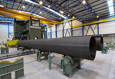 New JCOE® large-diameter pipe mill <br><br>